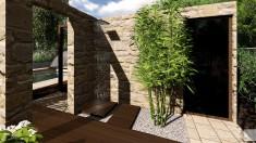 Ogród przy domu jednorodzinnym 1