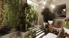 Projekt balkonu, Warszawa