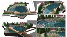 Koncepcja zagospodarowania zbiornika wodnego