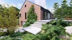 Minimalistyczny ogród tarasowy