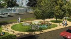 """Park kieszonkowy """"Ogród Pereca"""""""