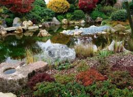 Камень - это материал, который часто используют при обустройстве сада. При умелом использовании он позволяет создать гармоничное целое, интегрируя дом, сад в окружающую среду.