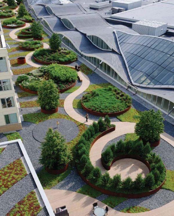 Best Commercial Landscape Design Commercial Landscape: Trendy W Architekturze Krajobrazu