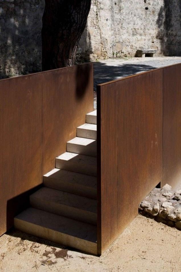 Corten W Architekturze Krajobrazu Trendy W Architekturze