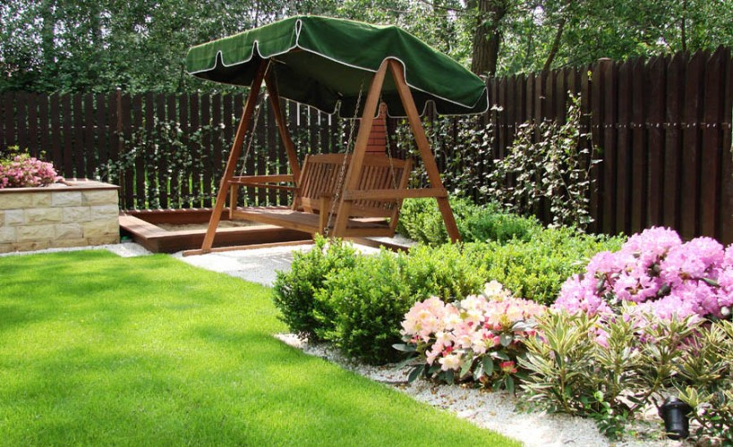 projekt ogrodu przydomowego na niewielkiej dzia ce ogrody w r nych stylach sztuka krajobrazu. Black Bedroom Furniture Sets. Home Design Ideas